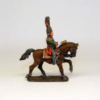 Оловянный солдатик Пехотный генерал. Россия, 1812 г.