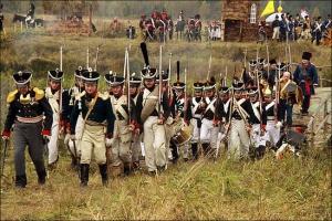 Реконструкция Битва на реке Вохна 1812 год