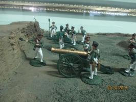 Макет реконструкции Тарутинского сражения