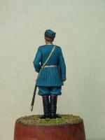 Фигурка Обер-офицер 4-го Стрелкового Императорской фамилии батальона 1913г. Андрей Яковлев.