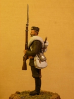 Рядовой 12 Астраханского гренадерского полка, 1888 г., А. Яковлев