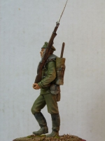 Рядовой гвардейского полка. Скульптор А.Яковлев, художник А.Калиничев