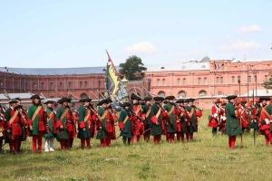Перед баталией - реконструкция Полтавского сражения