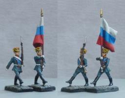 Президентский полк (28 мм), Михаил Преснухин, Михаил Медин.