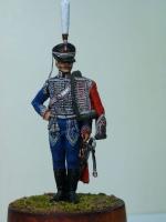 Андрей Яковлев - офицер Белорусского гусарского полка во время заграничного похода 1813 г
