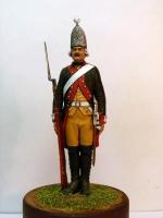Рядовой Московского гренадерского полка 1799 г.