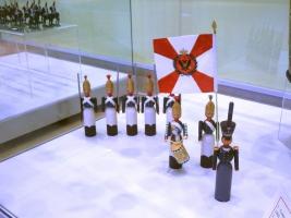 Выставка военно-исторической миниатюры в Подольском краеведческом музее