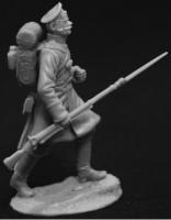 Гренадер пехотного полка, Россия 1853-56 гг (54 мм). Скульптор - Михаил Преснухин.
