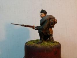 Cтрелок л.-гв. Стрелкового батальона Императорской фамилии, 1881-1882 гг