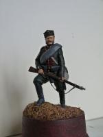 Андрей Яковлев - рядовой лейб-гвардии Стрелкового батальона Императорской фамилии, 1877-1878 гг.