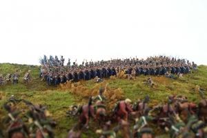 Атака Оренбургских драгун на каре французского 7-го Лёгкого полка