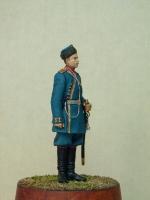 Андрей Яковлев. Фигурка Обер-офицер 4-го Стрелкового Императорской фамилии батальона 1913г