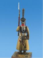 Гренадер пехотных полков, Россия 1812-15 гг (54 мм). Скульпторы: Д. Шевчук и М. Преснухин.