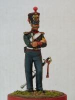 Канонир армейской конной артиллерии, 1832 г. Скульптор А.Яковлев, художник А.Калиничев ст.