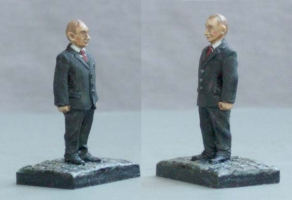 Президент России В.В. Путин (28 мм), Михаил Преснухин, Михаил Медин.