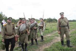 Военная реконструкция сражения при Гумбиннене