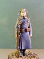 Андрей Яковлев (Рядовой пехотного полка в шинели)