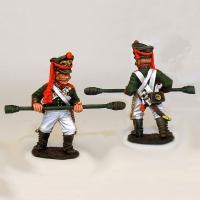 Оловянные солдатики Гвардейская пешая артиллерия. Россия, 1812 год