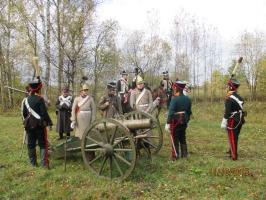 Военно-историческая реконструкция в Тарутино