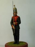 Рядовой лейб-гвардии Павловского полка. 1913 г.